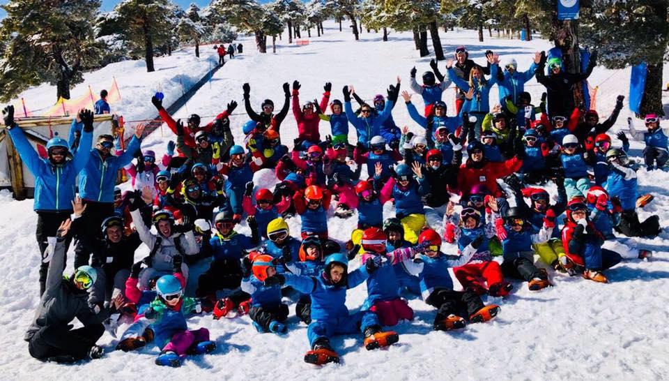 club de esqui sierra de madrid